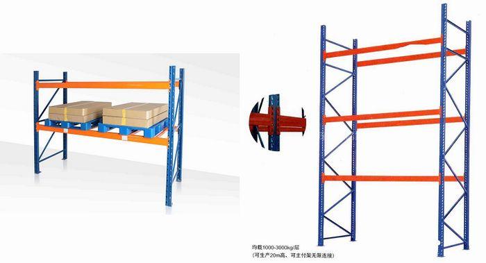 重型货架结构图