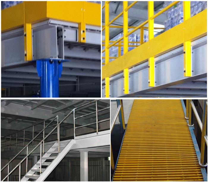 钢结构平台的组成部件以及分类