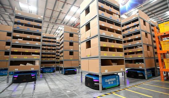 菜鸟智能机器人仓库,更胜京东一筹?