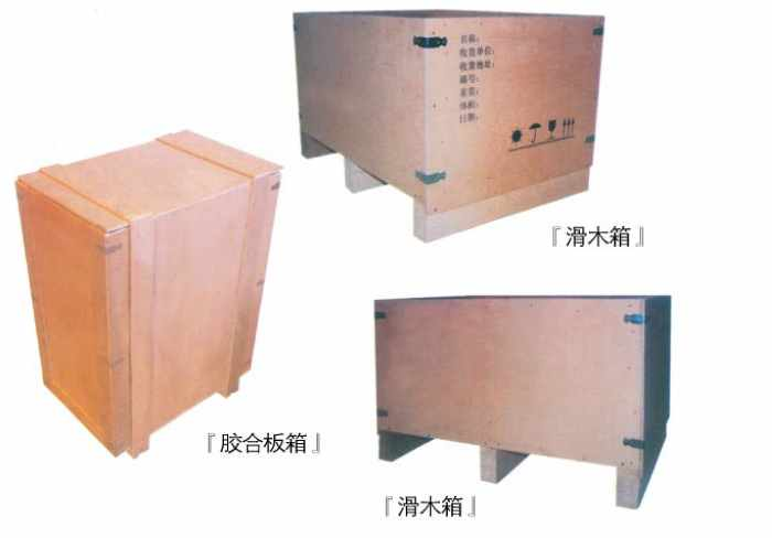 最常用的有木质包装箱,纸箱等,木质包装箱常采用木材,竹材等制成,除