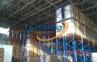 某物流企业重型货架储存案例