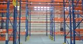 阁楼货架和重型货架进驻物流仓储中心